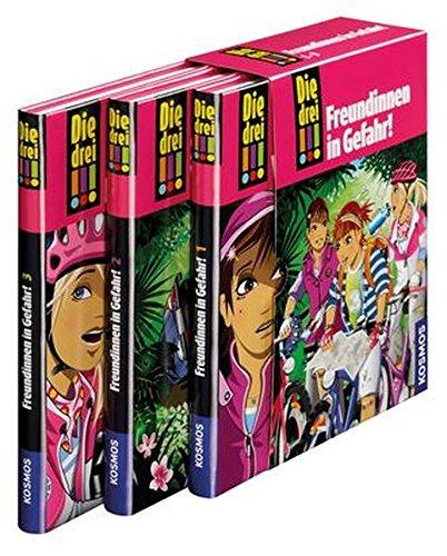 Die drei !!!, 50, Freundinnen in Gefahr! Gebundenes Buch – 7. August 2014 Maja von Vogel Mira Sol Henriette Wich Franckh Kosmos Verlag