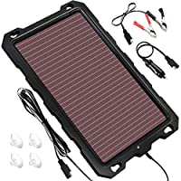 POWOXI 12V Solar Trickle Charger for Car...