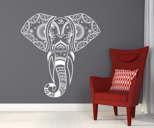Mandala Elephant Decals Sticker Bedroom product image
