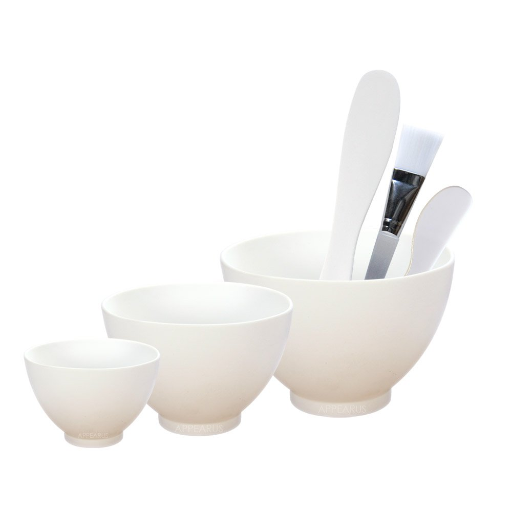 Appearus Facial Mask Mixing Bowl Set (White)