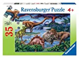 Ravensburger Dinosaur Playground - 35 Piece Jigsaw Puzzle for Kids – Every Piece is Unique, Pieces Fit Together Perfectly