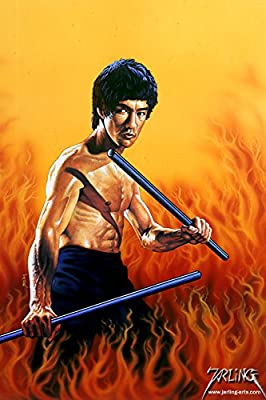 Bruce Lee's Poster By A-ONE POSTERS 12x18 inch