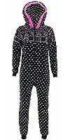 Katnap Kids Big Girls' Nordic Hooded One-Piece Pajamas
