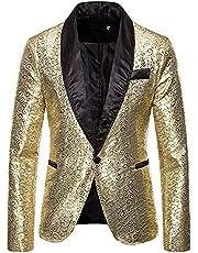 UISIEAF Herenpak, slim fit, modern colbert voor heren, blazer, modern, vrije tijd, licht jasje, formele smoking, effen cardigan-blazer met lange mouwen