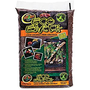 Zoo Med Eco Earth Loose Coconut Fiber Substrate, 8 Quarts 10