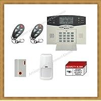 Rokmount Electronics Advanced Wireless Home Business Security System Burglar Alarm with Auto-Dialer AD10B-1w1m