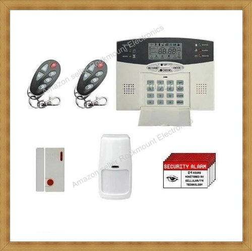 Rokmount electronics advanced wireless home business for Self security system