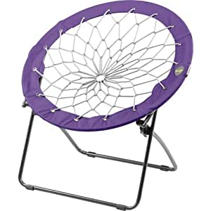 Foldable bunjo round chair purple kitchen for Bunjo chair