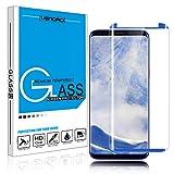 Galaxy S9 Plus Screen Protector, Venoro 9H Hardness Anti-Scratch, Anti-fingerprint, HD, Bubble Free Full Coverage Tempered Glass Screen Protector for Samsung Galaxy S9 Plus / Galaxy S9+ (Blue)