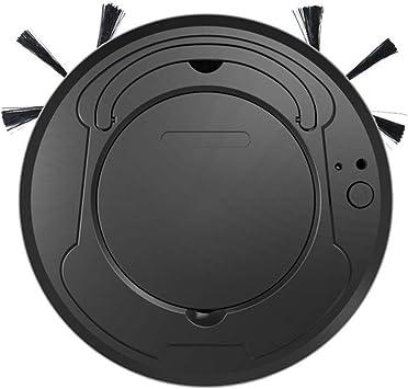 Barrer Robot de Limpieza del hogar de la máquina Aspirador Inteligente de Carga por inducción Inteligente Robot de Barrido (Color: Negro): Amazon.es: Deportes y aire libre