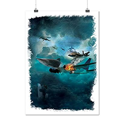 Fighter Jet Cool Fashion Air Combat Matte/Glossy Poster A0 A1 A2 A3 A4 | Wellcoda