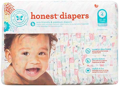 honest company diaper size 4 - 8