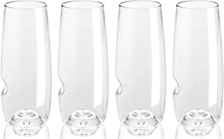 product image for Govino Go Anywhere Champagne Flute, 8-Ounce, Pack of 4