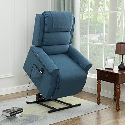 Amazon.com: Silla reclinable eléctrica de elevación clásica ...