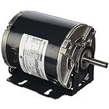 Marathon B206 Belt Drive Blower Motor, Single/Split Phase, C-Dimension - 9.62, 1/4 hp, 1725 rpm, 115V, 5 amp