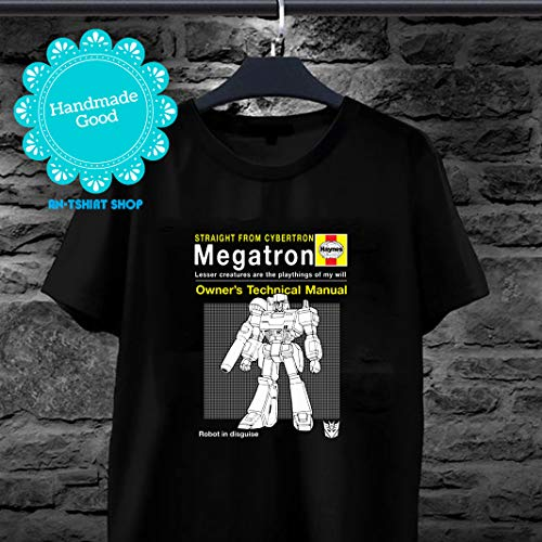 Megatron Haynes Manual Transformers T-Shirt for men and women