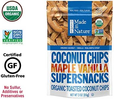 Dried Fruit & Raisins: Made in Nature Coconut Chips