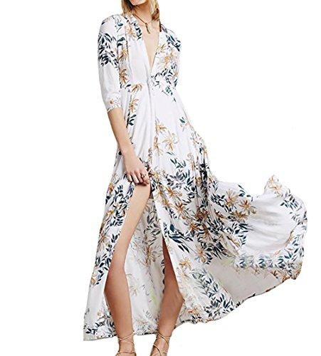 floaty sleeve chiffon floral dress - 6