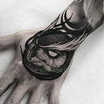 HXMAN 3 Unids Impermeable Tatuaje Temporal Pegatina Rosa Otra Flor ...