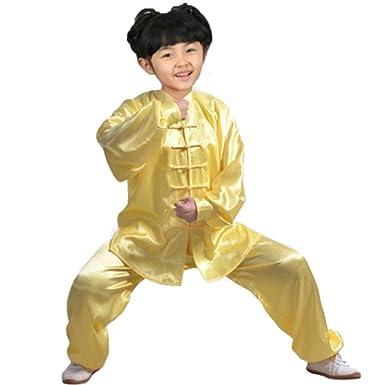 XFentech Kung Fu Uniforme de Ropa - Unisex Shaolin Artes Marciales ...