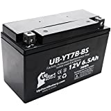 Replacement 2006 Suzuki DR-Z400, E, S, SM 400CC Factory Activated, Maintenance Free, Motorcycle Battery - 12V, 6Ah, UB-YT7B-BS