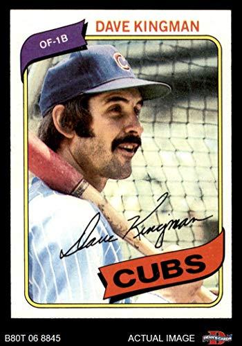 - 1980 Topps # 240 Dave Kingman Chicago Cubs (Baseball Card) Dean's Cards 7 - NM Cubs