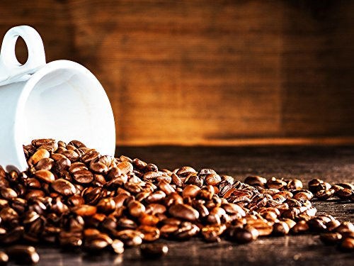 Kaffeine Koffee Organic Colombian Supremo Medium Roast Ground Coffee (2 LB)