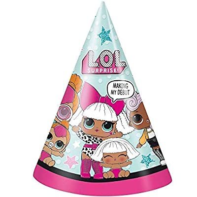 LOL Surprise Party Supplies 16 Party Hats: Toys & Games