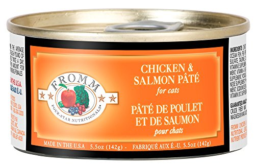 Fromm Chicken & Salmon Pate 5.5oz Case of 12
