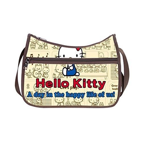Angelinana Custom Hello Kitty Messenger Bag Shoulder Bag ...