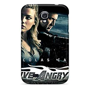 High Impact Dirt/shock Proof Cases Covers For Galaxy S4 (drive Angry 3d Movie)