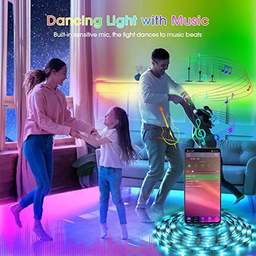 Led Strip Lights 65.6 Feet Led Lights for Bedroom