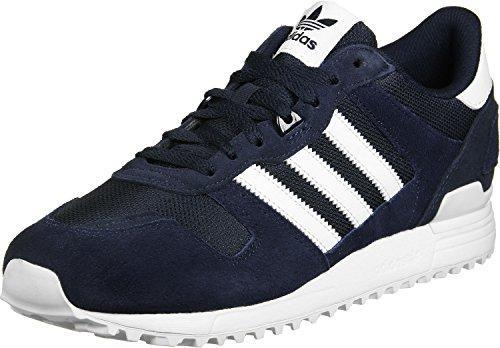 Adidas ZX 750, Zapatillas Hombre Azul Blanco