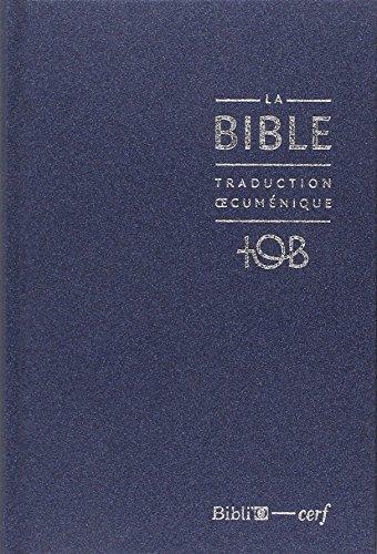 AUDIO BIBLE EN TÉLÉCHARGER TOB LA