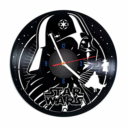 Star Wars Force Unleashed Ps3 Costumes (Star Wars vinyl record wall clock, Darth Vader home decor, best gift idea)