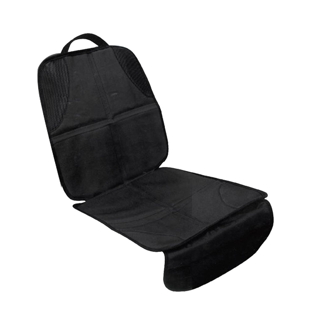 Dolity Car Baby Infant Child Seat Saver Anti-slip Protector Safety Cushion Cover Black