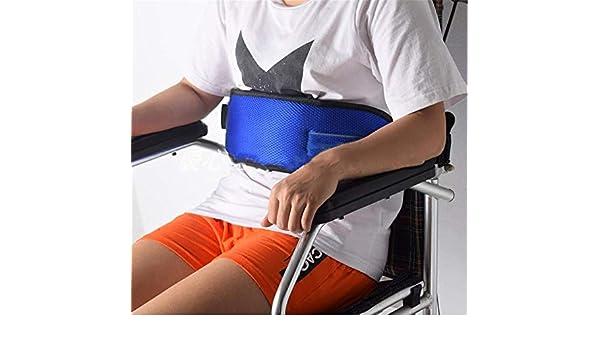 DYHQQ Silla De Ruedas Los Pacientes Se Preocupan por El Cinturón De Seguridad Arnés De Seguridad Silla Correa De Regazo para Ancianos, ...