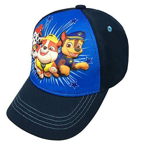 Nickelodeon Paw Patrol Character Toddler Boys Cotton 3D Baseball Cap Age 2-5 Blue
