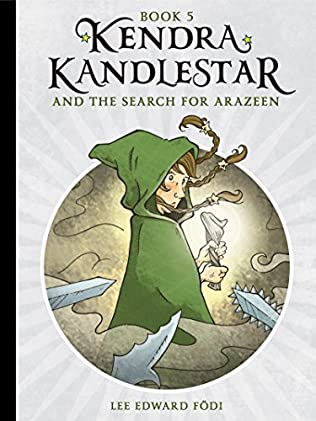 book cover of Kendra Kandlestar and the Search for Arazeen
