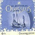 Die Abenteuer des Odysseus (Odysseus Collectors Edition) Hörspiel von Jürgen Knop,  Homer Gesprochen von: Joachim Nottke, Gisela Fritsch, Lutz Riedel
