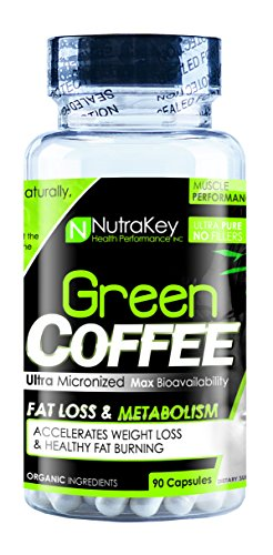NutraKey Green Coffee Bean Capsules, 90 Count