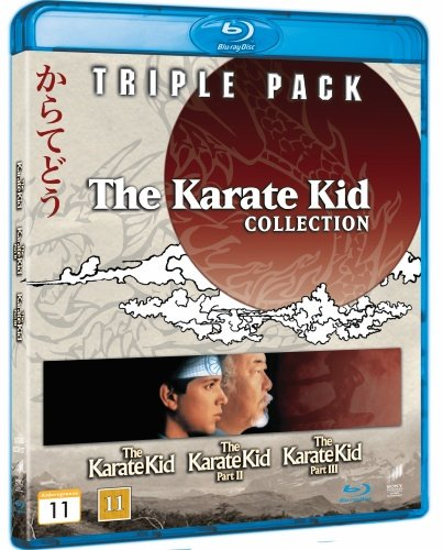 Karate Kid 1-3 Box Set Collection [Region Free] Blu Ray by