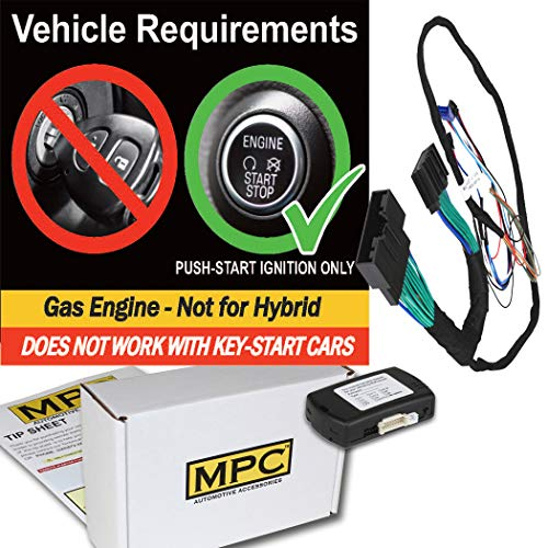 MPC Complete Plug-n-Play Factory Remote Activated Remote Start Kit for 2015-2018 Ford Edge - w/Bypass - Firmware Preloaded ()