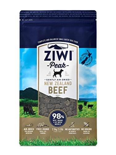 1. Ziwi Peak Air-Dried Beef Dog Food