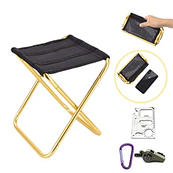 Magnificent Sylc Mini Ultralight Portable Folding Camping Stool For Outdoor Fishing Hiking Backpacking Travelling Outdoor Little Stools Gmtry Best Dining Table And Chair Ideas Images Gmtryco