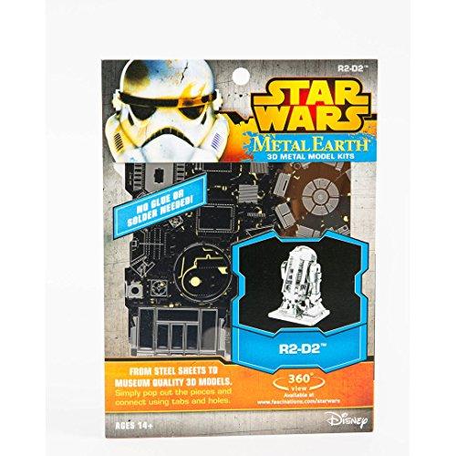 Review Fascinations Star Wars R2D2 Model Kit Metal Earth Fascinations