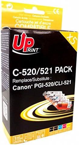 Pack Uprint PGI520/CLI521 5 Cartuchos: Amazon.es: Informática