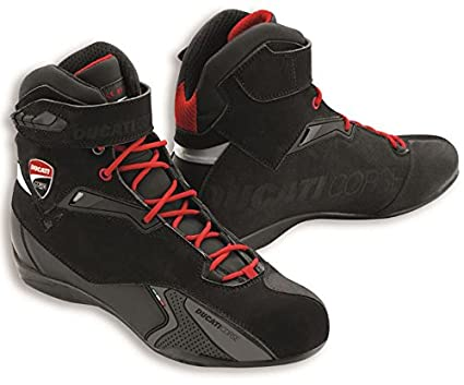 a58c18b23b46 Image Unavailable. Image not available for. Color  Ducati Corse City  Technical Short Motorcycle Boots ...