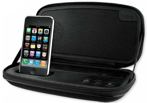 iHome Rechargeable Stereo Speaker Case for iPhone/iPod (iP57)