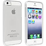 iPhone SE Case, Everydaysource Compatible with Apple iPhone 5SE / 5S / 5, Clear, TPU Rubber Skin Case